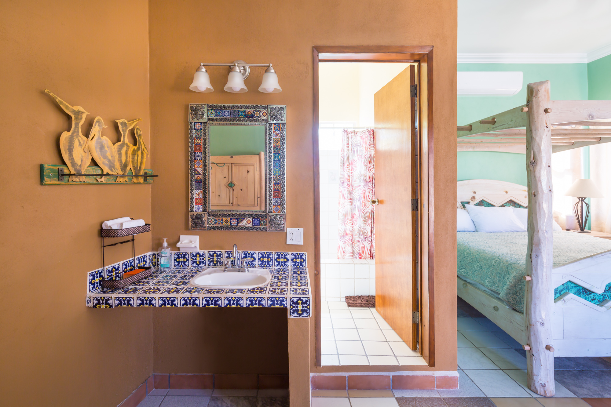 Vanity - Pelican Penthouse at Loreto Playa Boutique Hotel